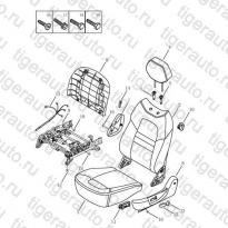 Каталог LF SEAT CUSHION & BACK# Geely Emgrand X7