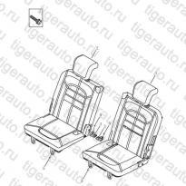 Каталог REAR SEAT Geely Emgrand X7