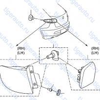 Каталог REAR COMBINATION LAMP Luxgen 7 SUV