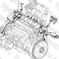 Каталог Жгут проводов двигателя Geely MK08