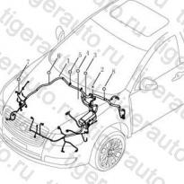 Каталог ENGINE COMPARTMENT WIRE HARNESS Geely Emgrand EC8