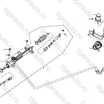 Каталог ГУР, рулевая рейка Lifan Cebrium