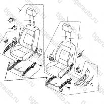 Каталог Передние сидения Lifan Cebrium