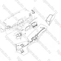 Каталог Обшивки и аксессуары приборной панели Lifan Cebrium