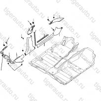 Каталог Обшивки боковой части салона Lifan Cebrium