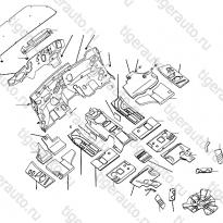 Каталог Звукоизоляция кузова Lifan Cebrium