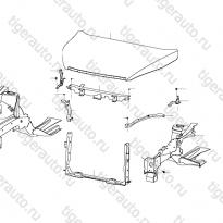 Каталог Передняя часть кузова Lifan Cebrium