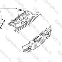 Каталог Полка и задняя панель кузова Lifan Cebrium