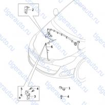 Каталог WIRING HARNESS-ENGINE (LA) Chery Very (A13A)