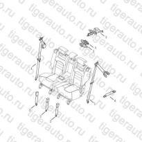 Каталог REAR SEAT BELT Geely Emgrand X7