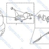 Каталог REAR WIPER Luxgen 7 SUV