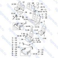 Каталог SEAT ASSY Chery Very (A13A)